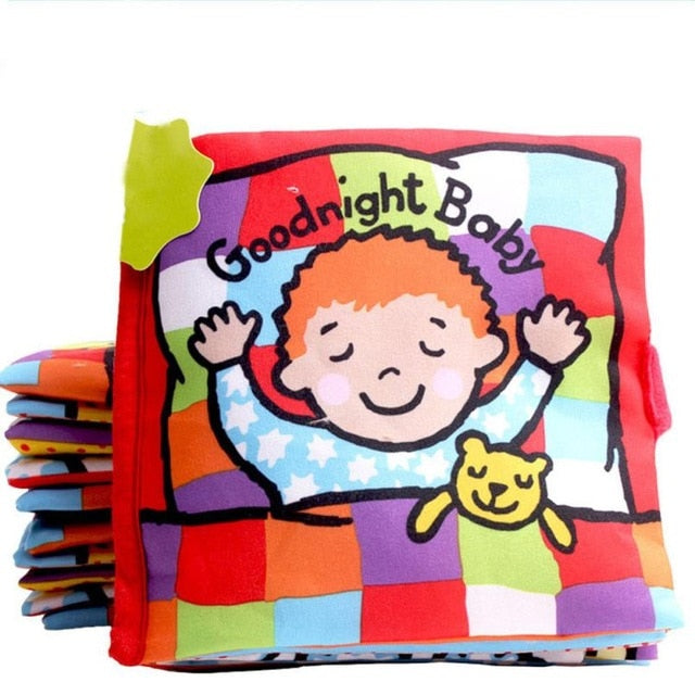 Good Night Soft Cloth Baby Book