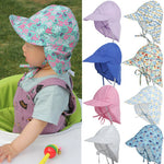 7 Colors UPF50+ UV Protection Cotton Bucket Summer Hat
