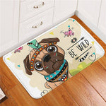 Cute Cartoon Animal Doormat / Rug (Lion, Owl, or Dog) Non-slip