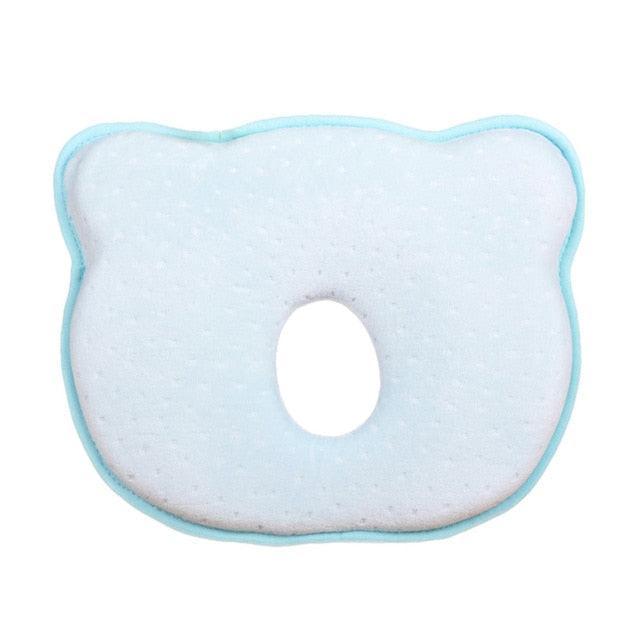 Baby Pillow Memory Foam Cushion Sleeping Support - Prevent Flat Head