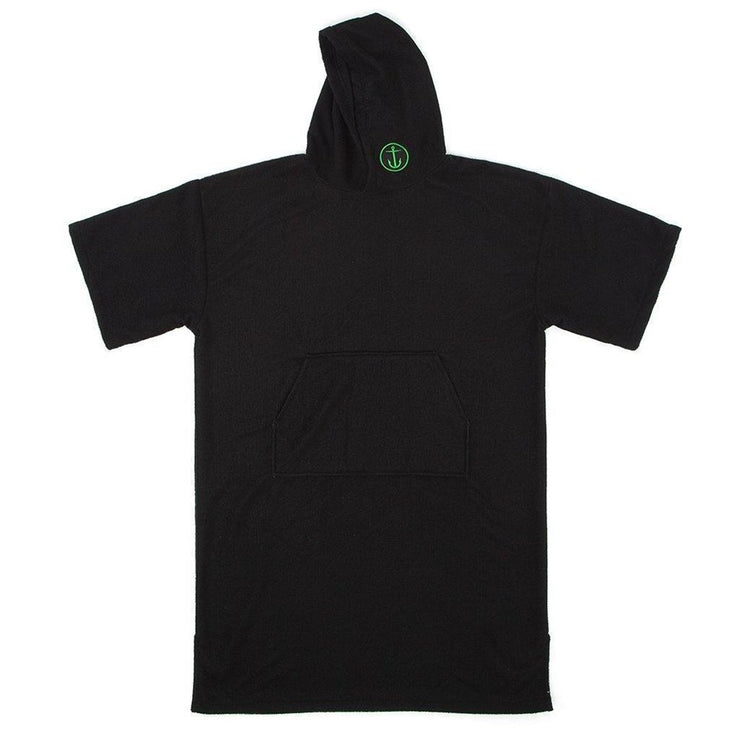 Captain Fin Changing Robe BLK