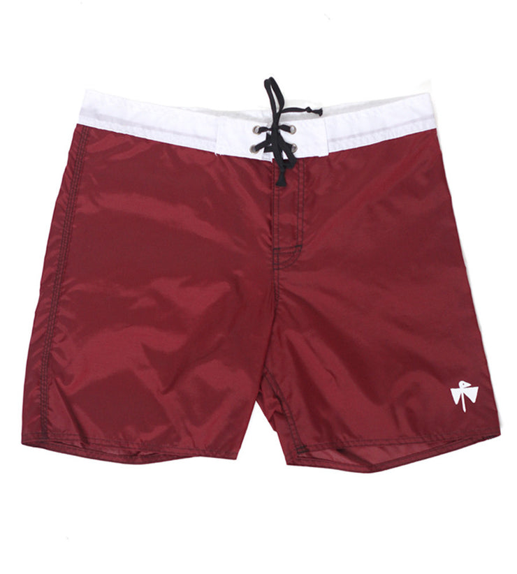 Wild Things Boardshorts (Burgundy/White)