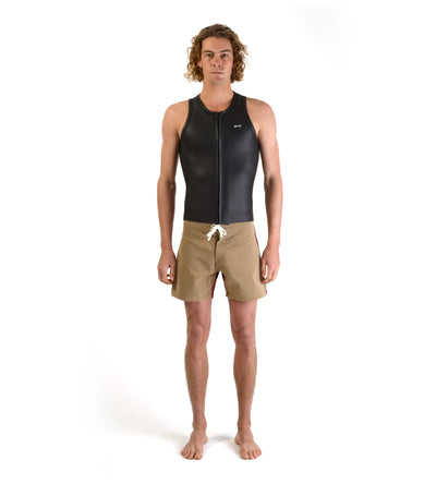 Front Zip Sleeveless Vest (Mens)