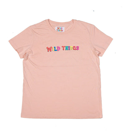 Ozzy Bubble Tee- Dusty Pink (Womens)
