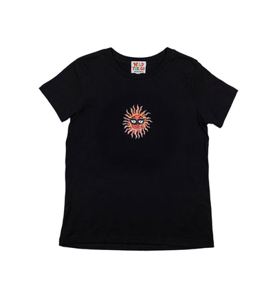 Brodie Sun Dance Tee Black (Womens)