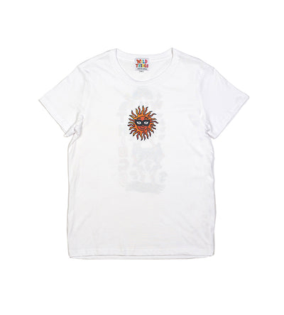 Brodie Sun Dance Tee White (Womens)