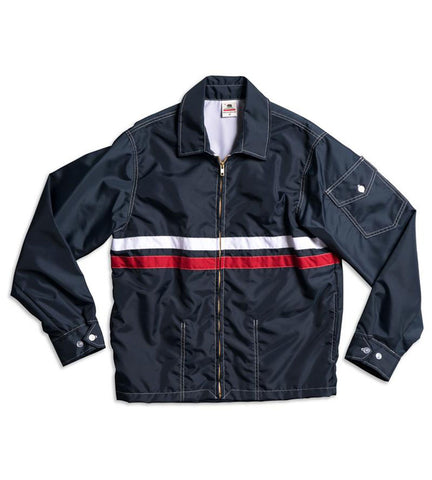 Birdwell Womens Competition Jacket Navy & Red