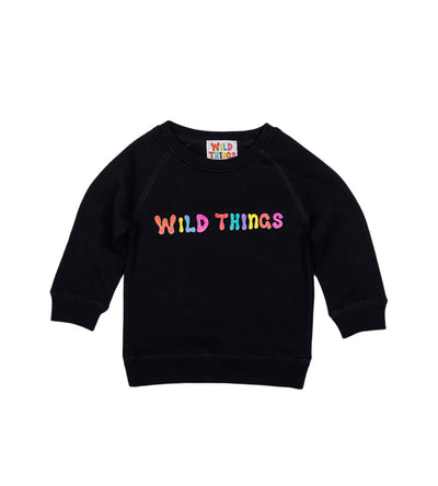 Ozzy Bubble Raglan Black (Youth)