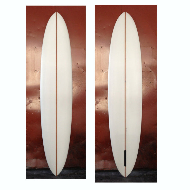 Brown Microwave Television (Alex Knost Handshape) 8'2 (SOLD)