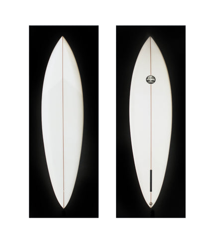 Mackie Single Fin Pin Tail 6'10