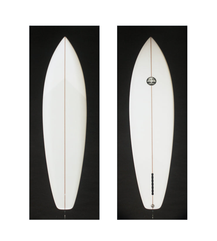 Mackie Single Fin Square Tail 6'10