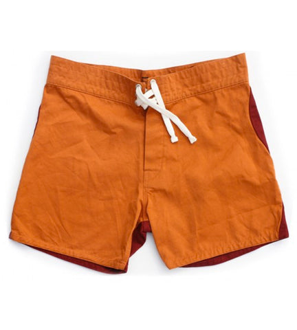 Gato Heroi 2 Tone Surf Short Rust/Blood