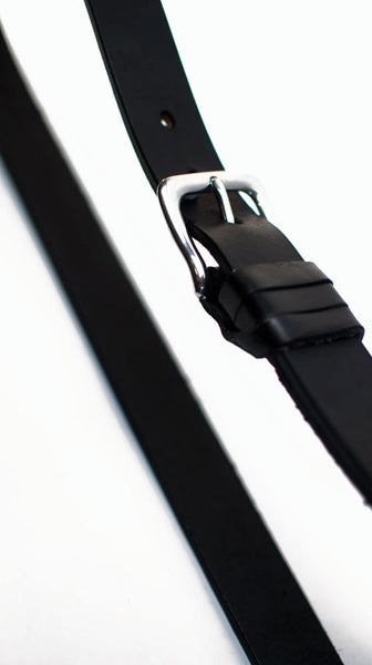 Black with Stainless Steel buckle