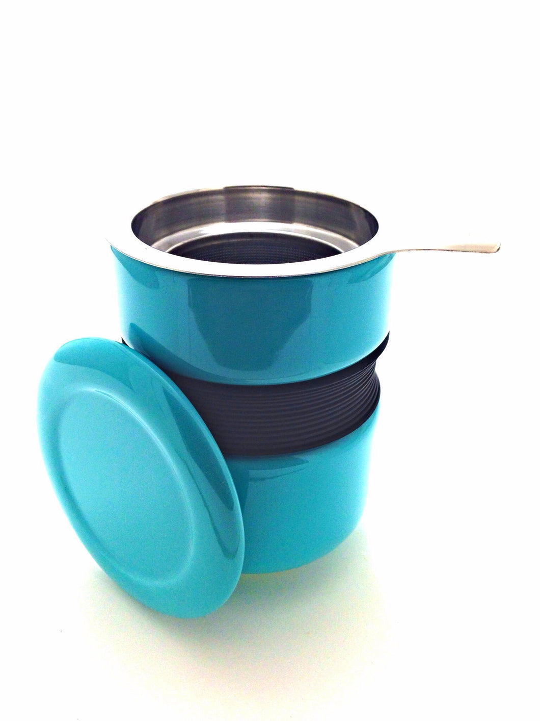 Unique Teacup with Infuser and Lid