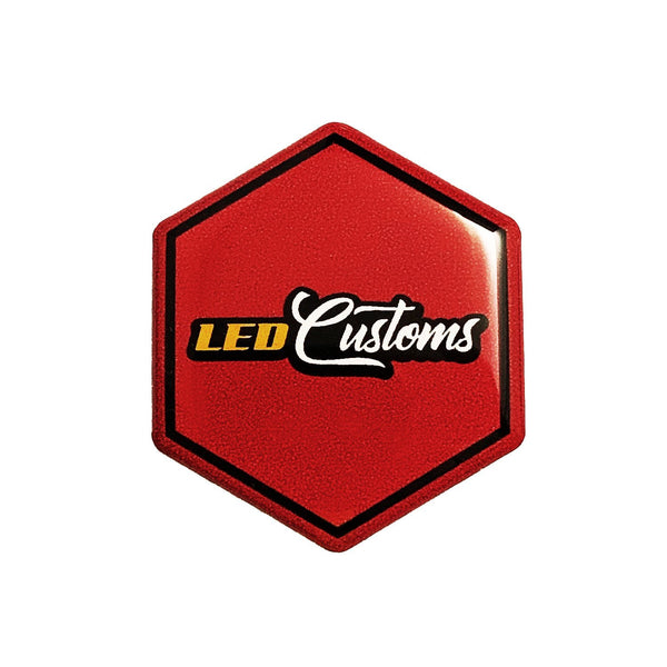 Piaggio Embleem LED Customs - LED Customs