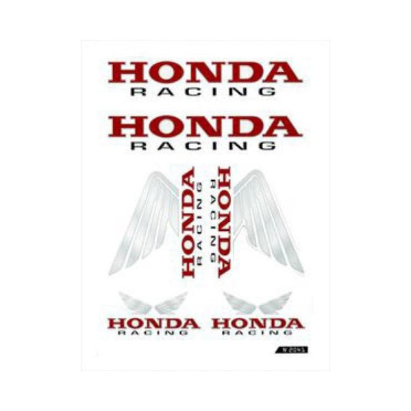 Stickerset Honda Racing - LED Customs