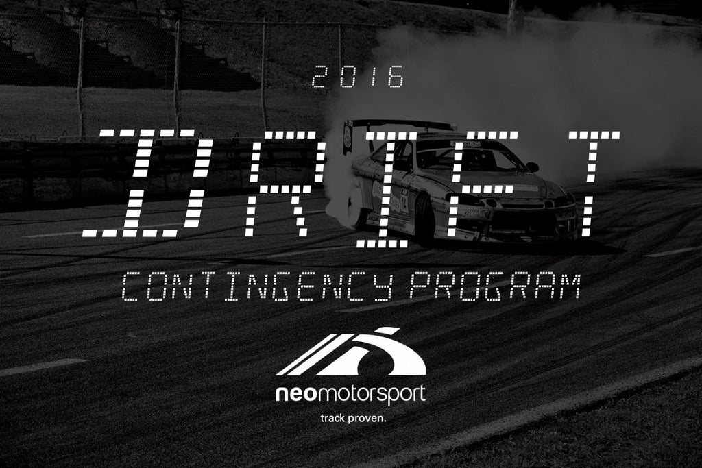 2016 NEO Motorsport DRIFT Contingency Program