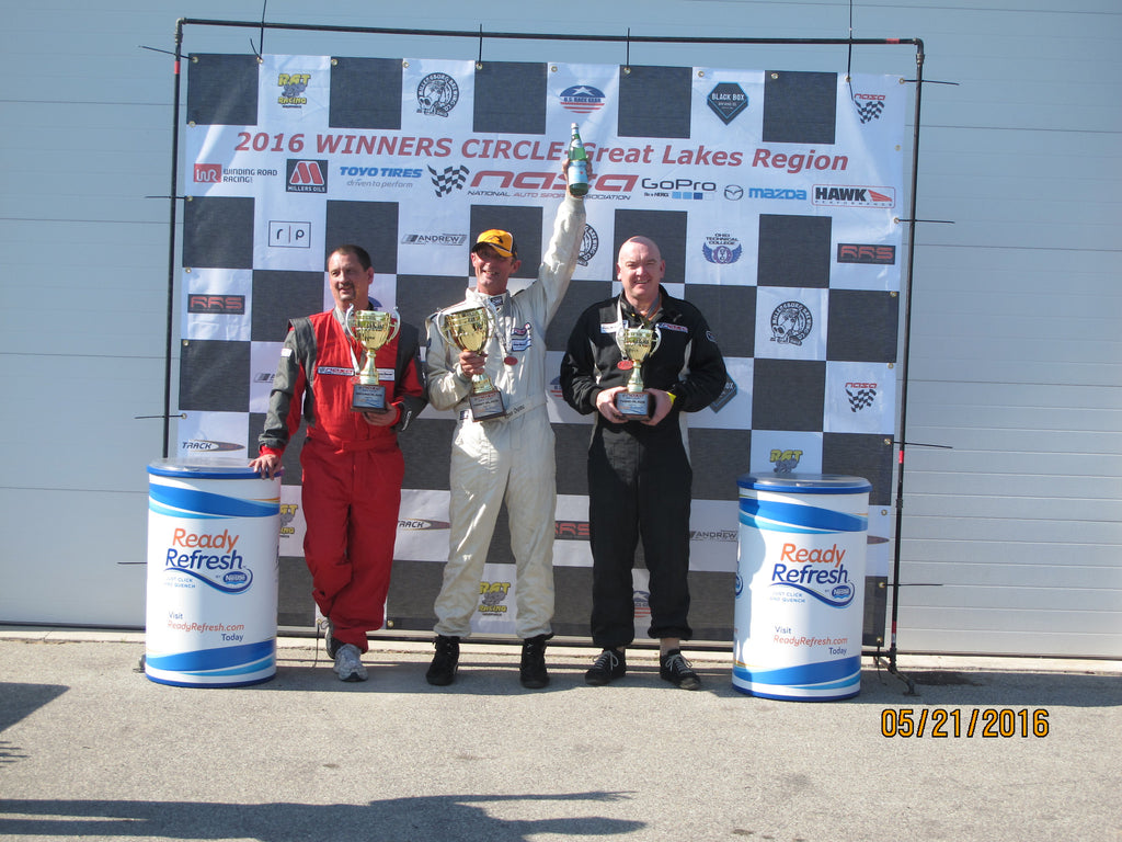 Kent Owens Continues to Dominate at Road America!