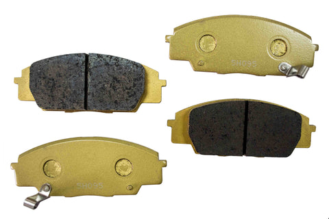 NEO P1 Race Brake Pad For Honda S2000 (AP1/AP2) - Front