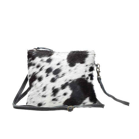 White and Black Hide On Bag