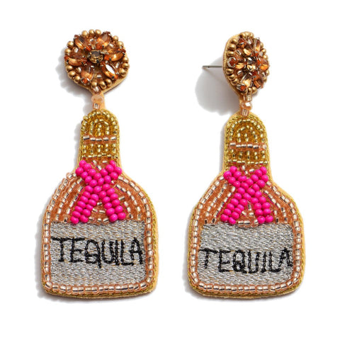 You and Tequila Make Me Crazy Earrings