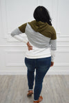 SoCowl® Olive Color Block