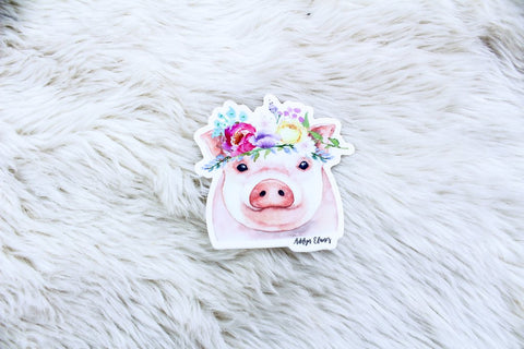 Miss Petunia Sticker