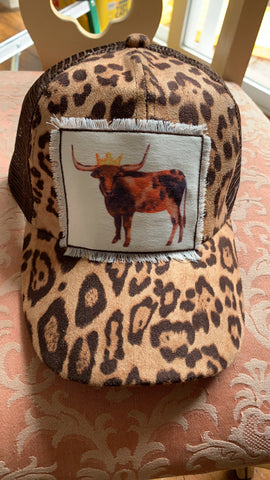 Adult Beef Queen Leopard Hat