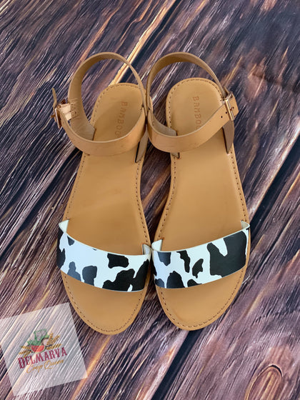 Til the cows come home sandals