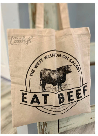 Eat Beef Market Tote