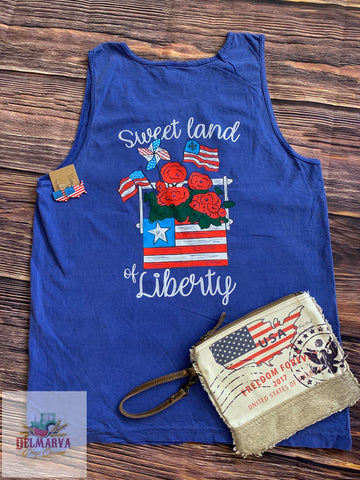Sweet land of liberty tank