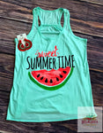 Sweet summer time tank