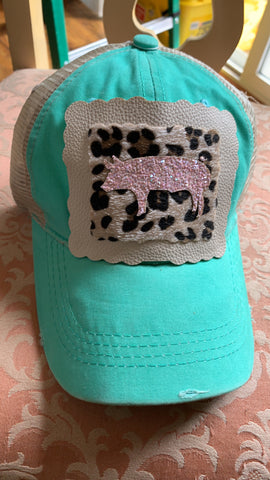 Youth Piggy Bling Hat