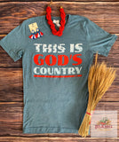This is Gods Country Unisex Tshirt