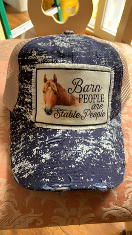 Barn People are Stable People Hat