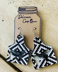 Show steer life earrings