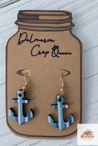 Wooden anchors