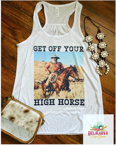 Get off your high horse tank
