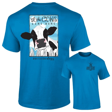 Til the cows home womens unisex shirt