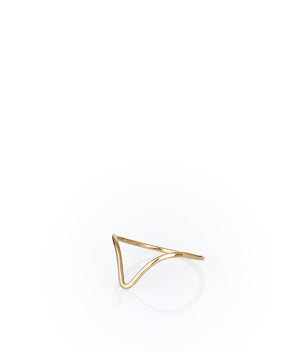 Chevron Ring - Devin Krista Jewelry