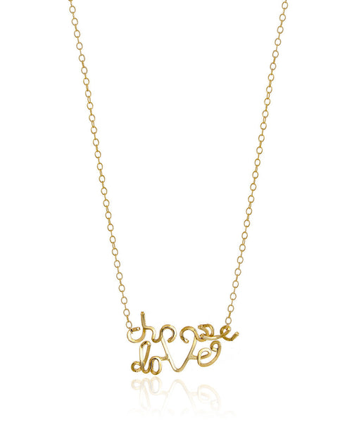 Choose Love Necklace - Devin Krista Jewelry
