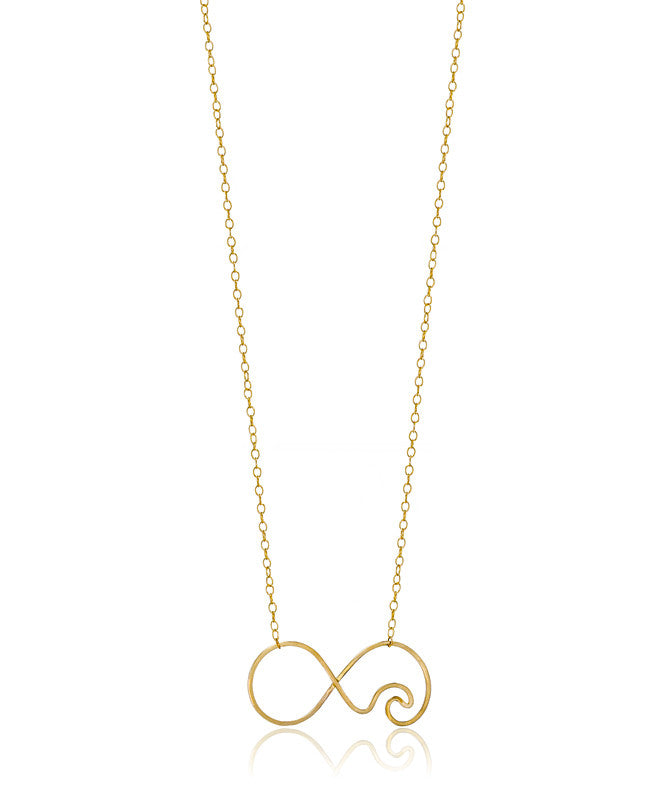 Forever Waves Necklace - Devin Krista Jewelry