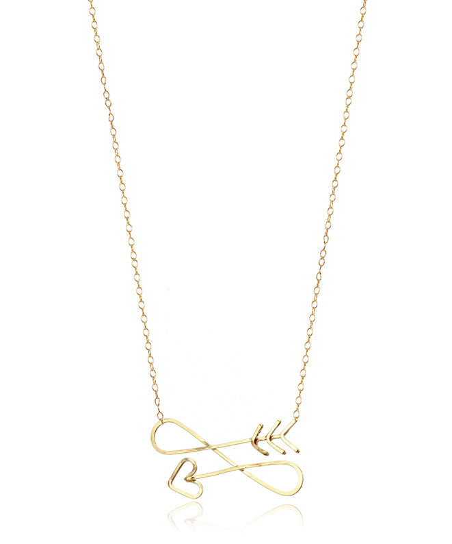 Infinite Arrow Necklace - Devin Krista Jewelry