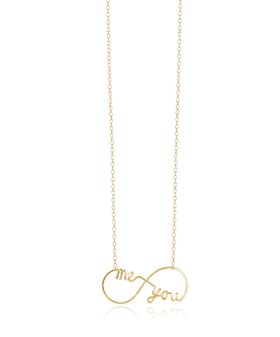 "Infinite ""Me & You"" Necklace - Devin Krista Jewelry"