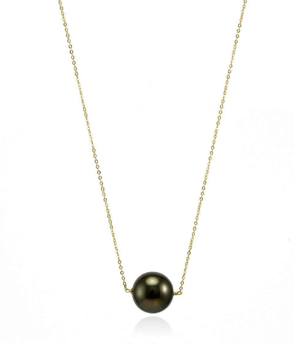Large Singlet Pearl Necklace - Devin Krista Jewelry