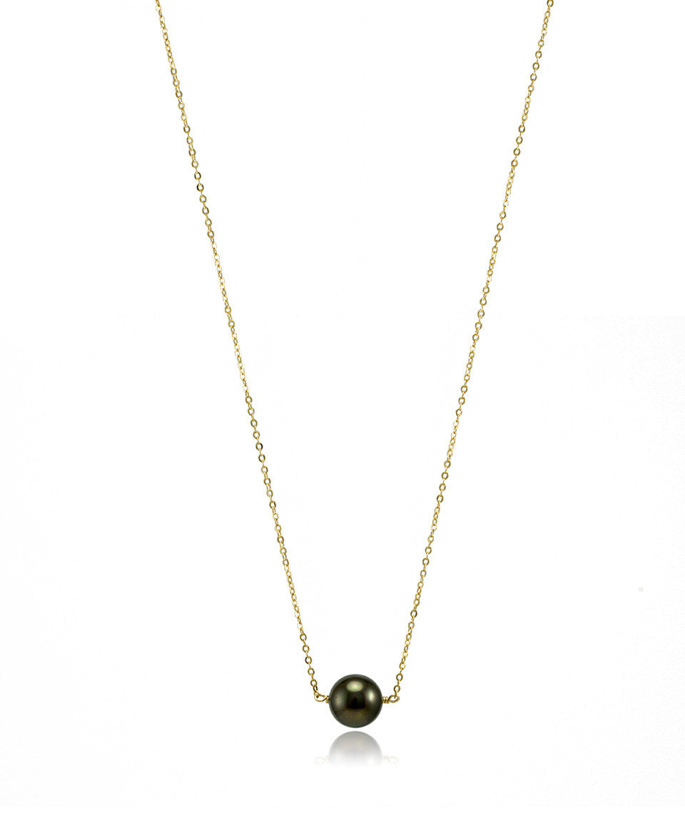 Mini Singlet Pearl Necklace - Devin Krista Jewelry