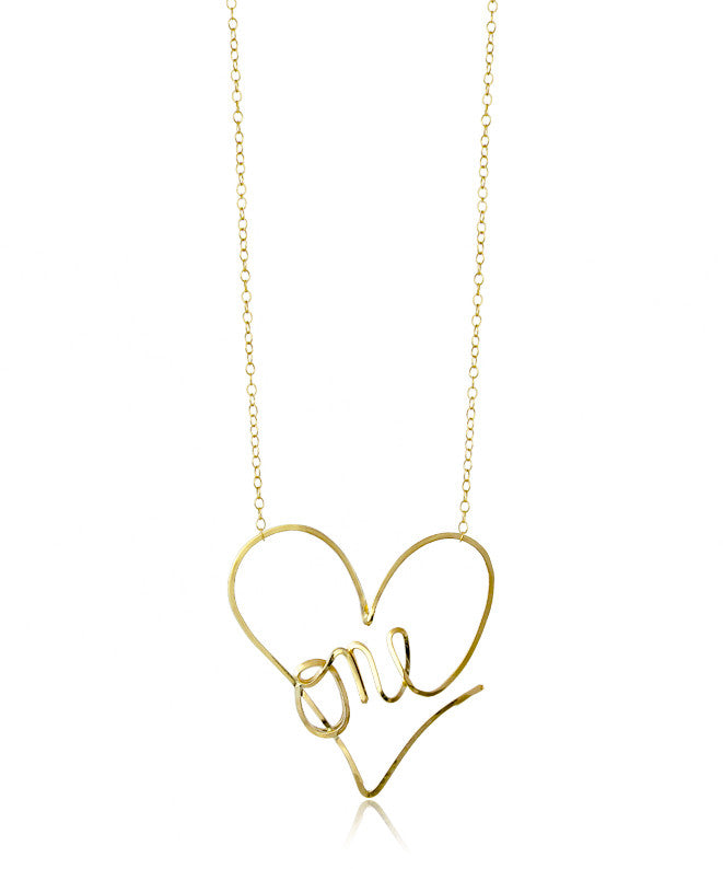 One Love Necklace - Devin Krista Jewelry