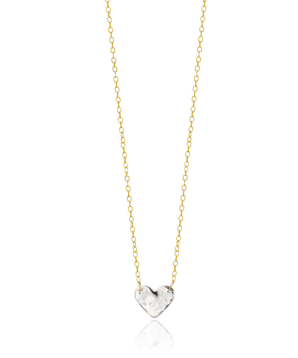 Silver Hearts Necklace - Devin Krista Jewelry