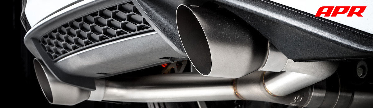apr tuning catback exhaust systems audi catback exhausts vw catback exhausts