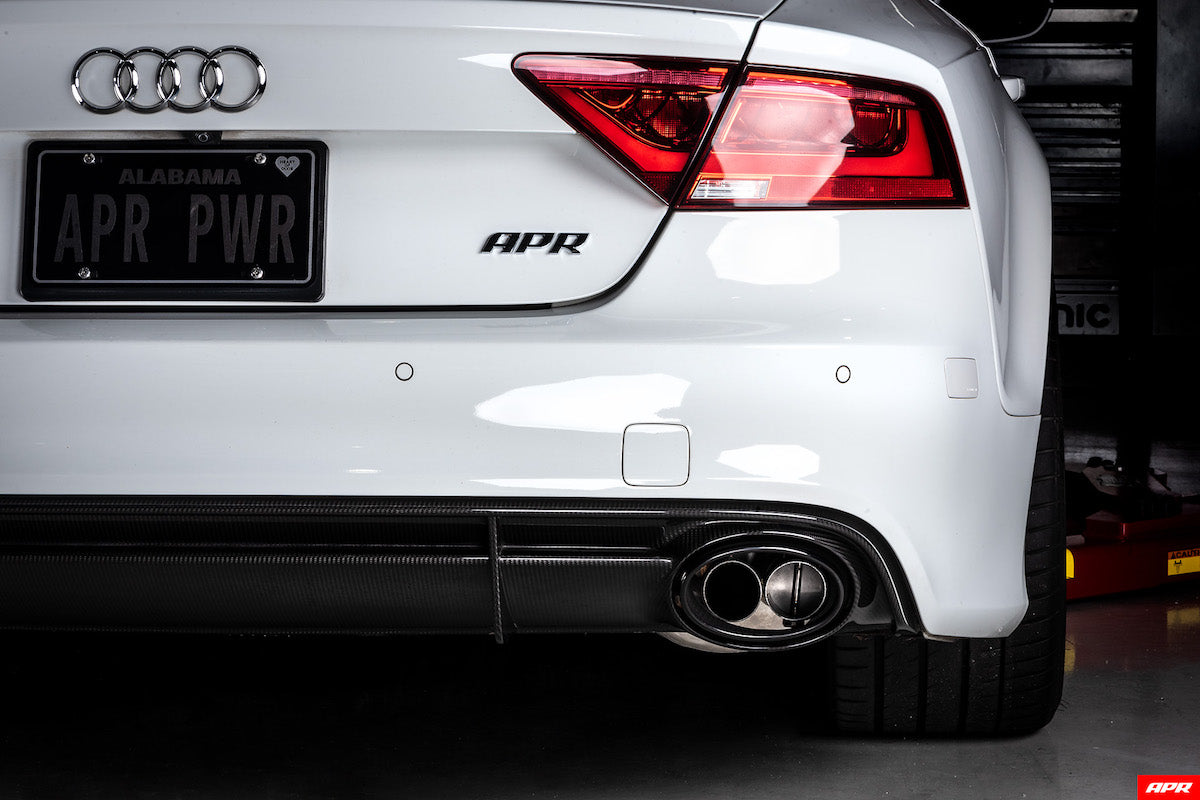 apr tuning RS7 C7 C7.5 4.0TFSI Catback Exhaust System CBK0010 apr tuning dealer